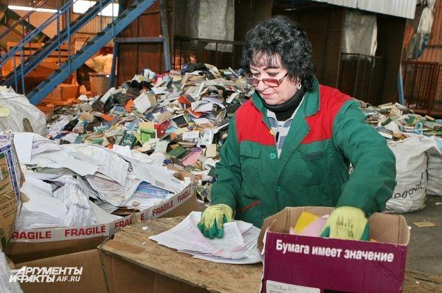 В переработке отходов заняты сотни калининградцев.