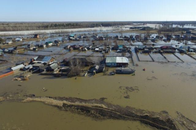 Паводок в Тальменском районе
