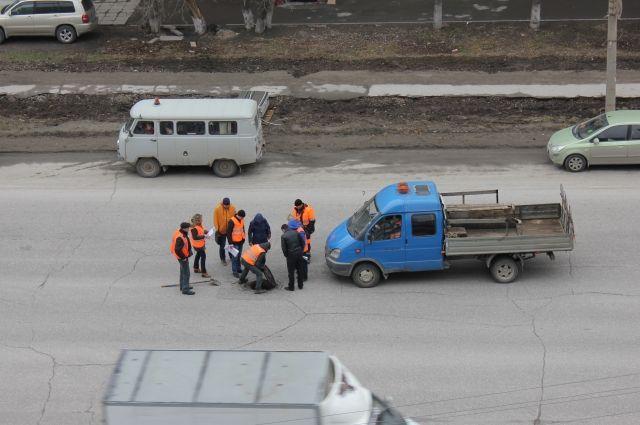 Плохие дороги - проблема Новосибирска.