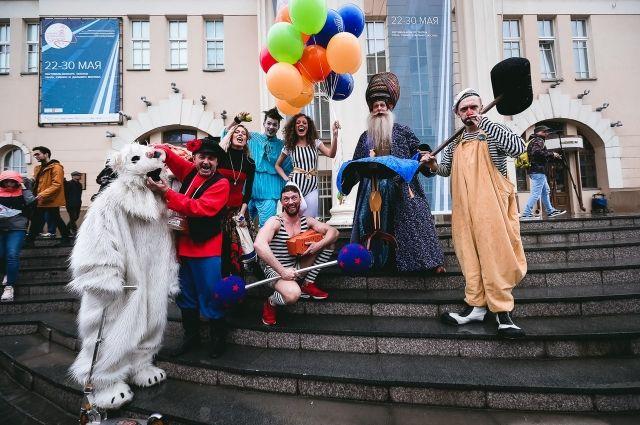Театралы встретились в Новосибирске.