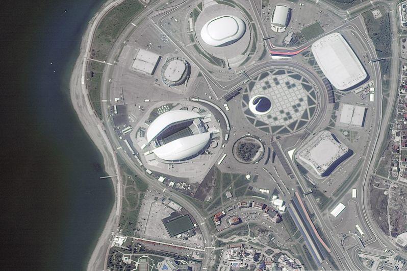 Стадион «Фишт» в Сочи.