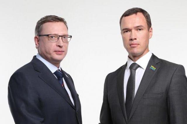 Александр Бурков и Илья Лобов близкие соратники по партии «СР».