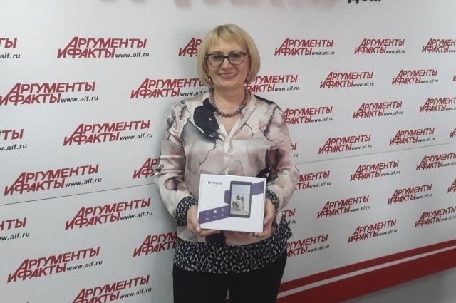 Семья Светланы Алемовской будет читать «АиФ» в бумажной и интернет-версиях.