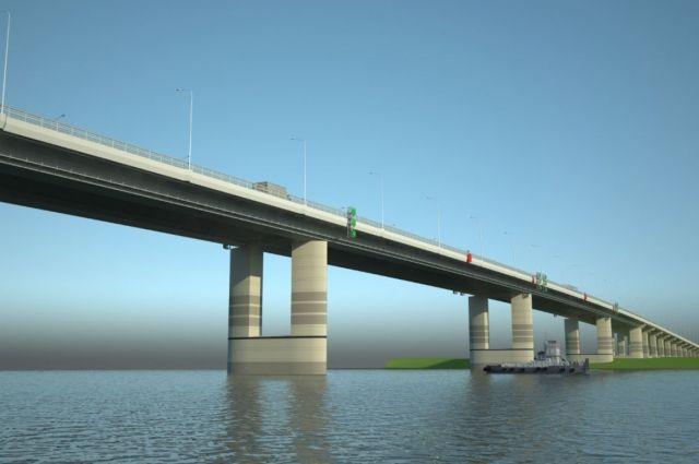 Проект третьего моста через Обь