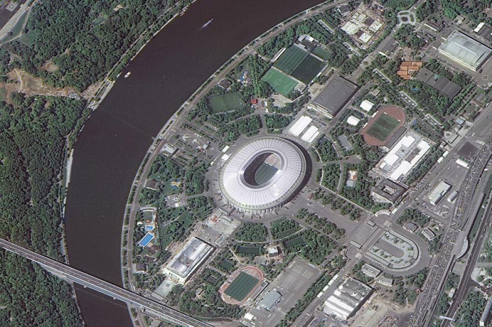 Стадион «Лужники» в Москве.