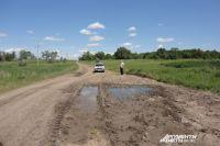 Сельские дороги - то яма, то канава