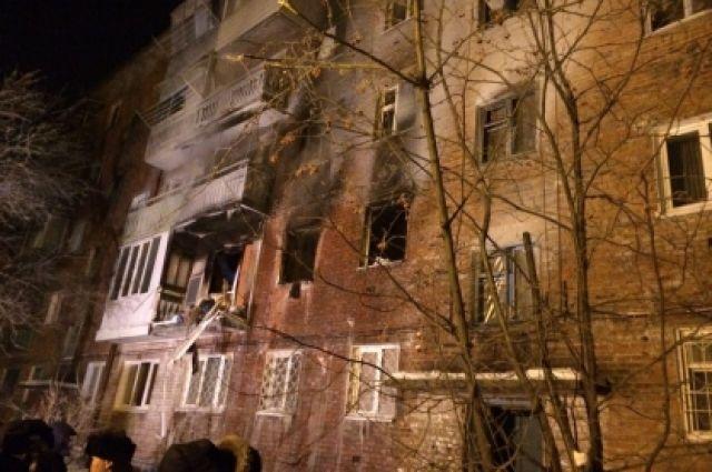 Взрыв газа прогремел 12 января 2018 года.