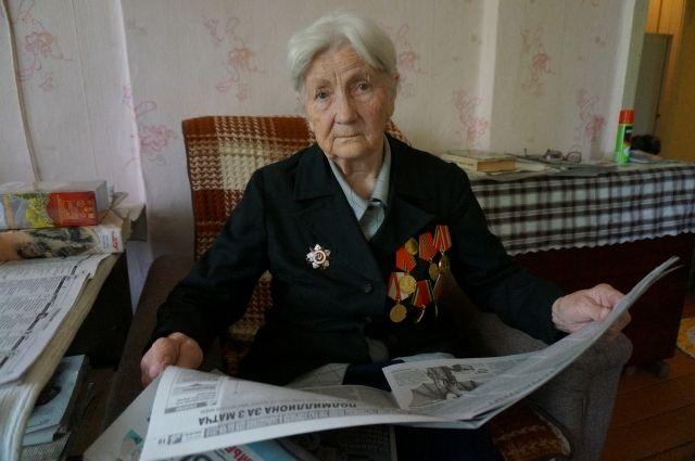 В доме у ветерана Людмилы Гришаковой никогда не было горячей воды.