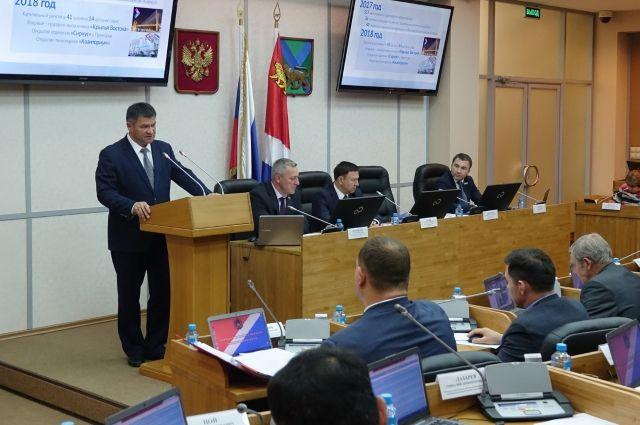 Глава региона рассказал о сделанном в 2017 году и наметил перспективы на будущее.