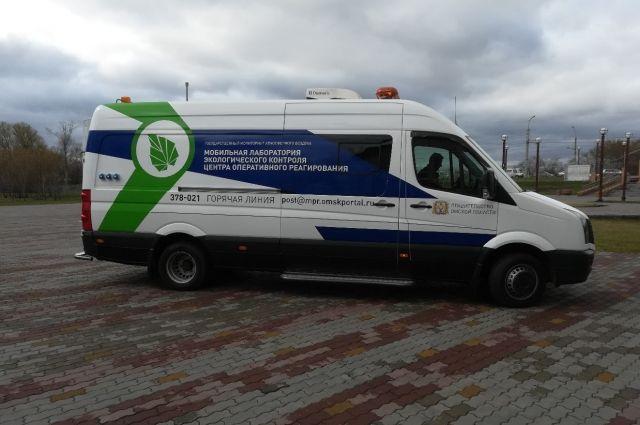 Эколаборатория в Омске определила степень чистоты воздуха.