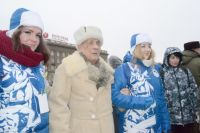 Волонтёры Победы помогали ветеранам во время празднования юбилея Сталинградской Победы.