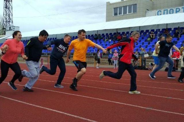 Омские энергетики дружат со спортом.