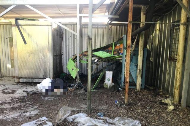 Из-за выброса хладогена на производстве под Калининградом погиб рабочий.