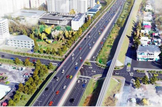 Таким, по заверению властей, будет съезд с Северодвинского моста в Архангельске.