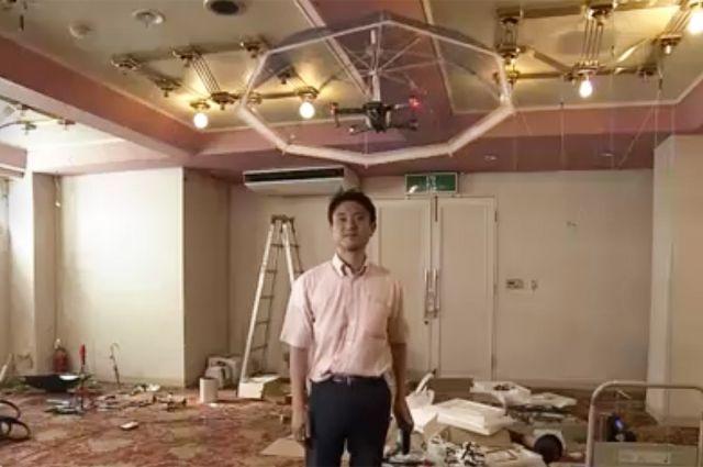 В Японии изобрели летающий зонт - Real estate