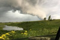 Ураган в Ярославле в июне 2018 года.
