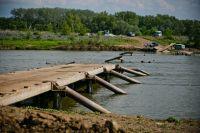 Мост у с.Нижнеозерный Илекского района снес весенний паводок.