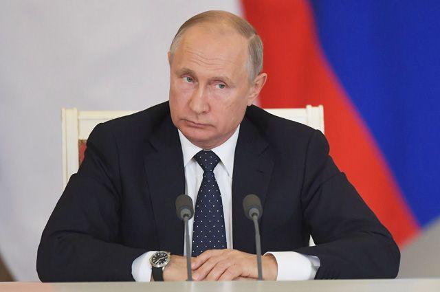 Прямой эфир с Владимиром Путиным - 7.06.2018