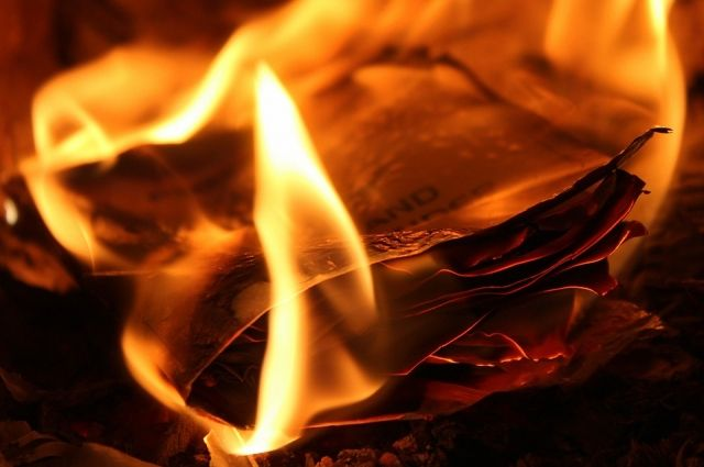 Пожар вспыхнул сегодня, 7 июня днем