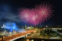 В Омске салют в День России будет в парке.