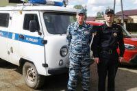 Когда начался пожар, старшие сержанты Роман Маркин и Сергей Томилин находились на дежурстве.