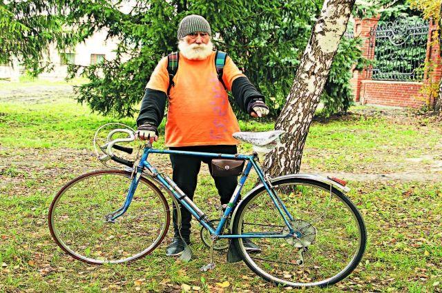 Велосипед - лучший транспорт для горожан любого возраста