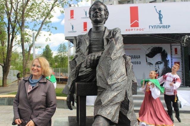 Скульптуру установили в центре города – в парке около нового жилого комплекса.