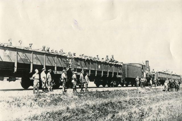 В Челябинской области находилась одна из самых крупных группировок чехословацких легионеров – 8,8 тыс. человек