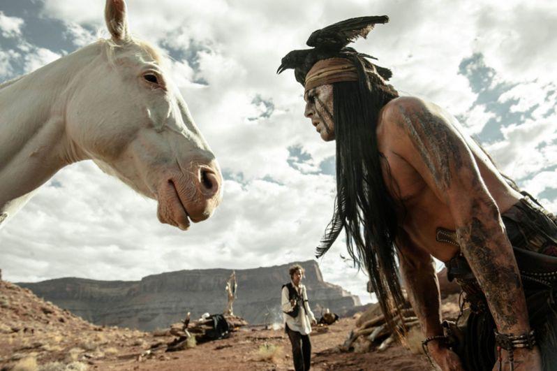 Картина «Одинокий рейнджер» (2013), где Депп сыграл индейца Тонто, была негативно воспринята большей частью американской кинопрессы и выдвинута в пяти категориях антипремии «Золотая малина», в том числе как худший фильм года. Фильм получил лишь 30% положительных отзывов со средней оценкой 4,8 из 10.