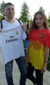Фанаты сборной Испании.