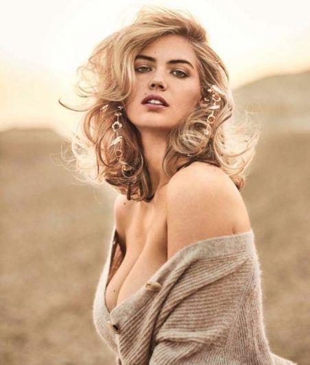 Кейт Аптон очень похожа на Мэрилин Монро: тот же взгляд с дымкой манит своей сексуальностью.