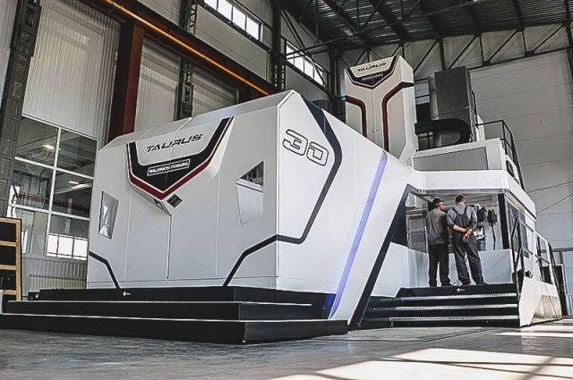 В Новокузнецком районе открыли завод точной металлообработки.