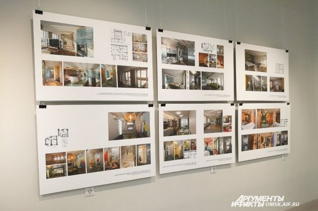 Архитектурные работы вызывают интерес.
