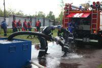 В «Транснефть – Сибирь» прошли соревнования по пожарно-прикладному спорту