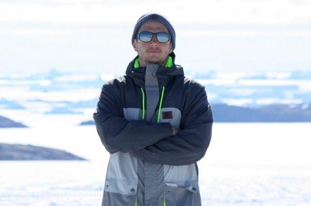 Кирилл Зоря провел на полярной станции полтора года