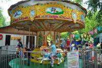В современных парках уже мало одних каруселей - нужна целая инфраструктура для развлечений.