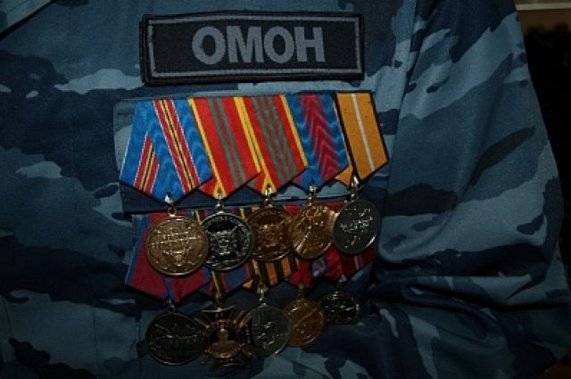 Оренбургскому ОМОНу - 25 лет.
