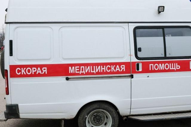 Авария произошла возле строящегося зоопарка в Перми.