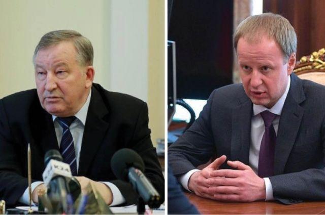 Александр Карлин и Виктор Томенко.
