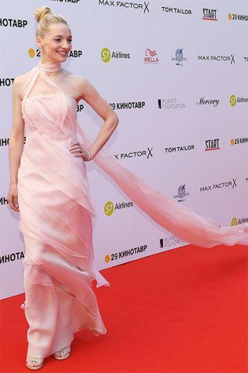 Актриса Екатерина Вилкова.