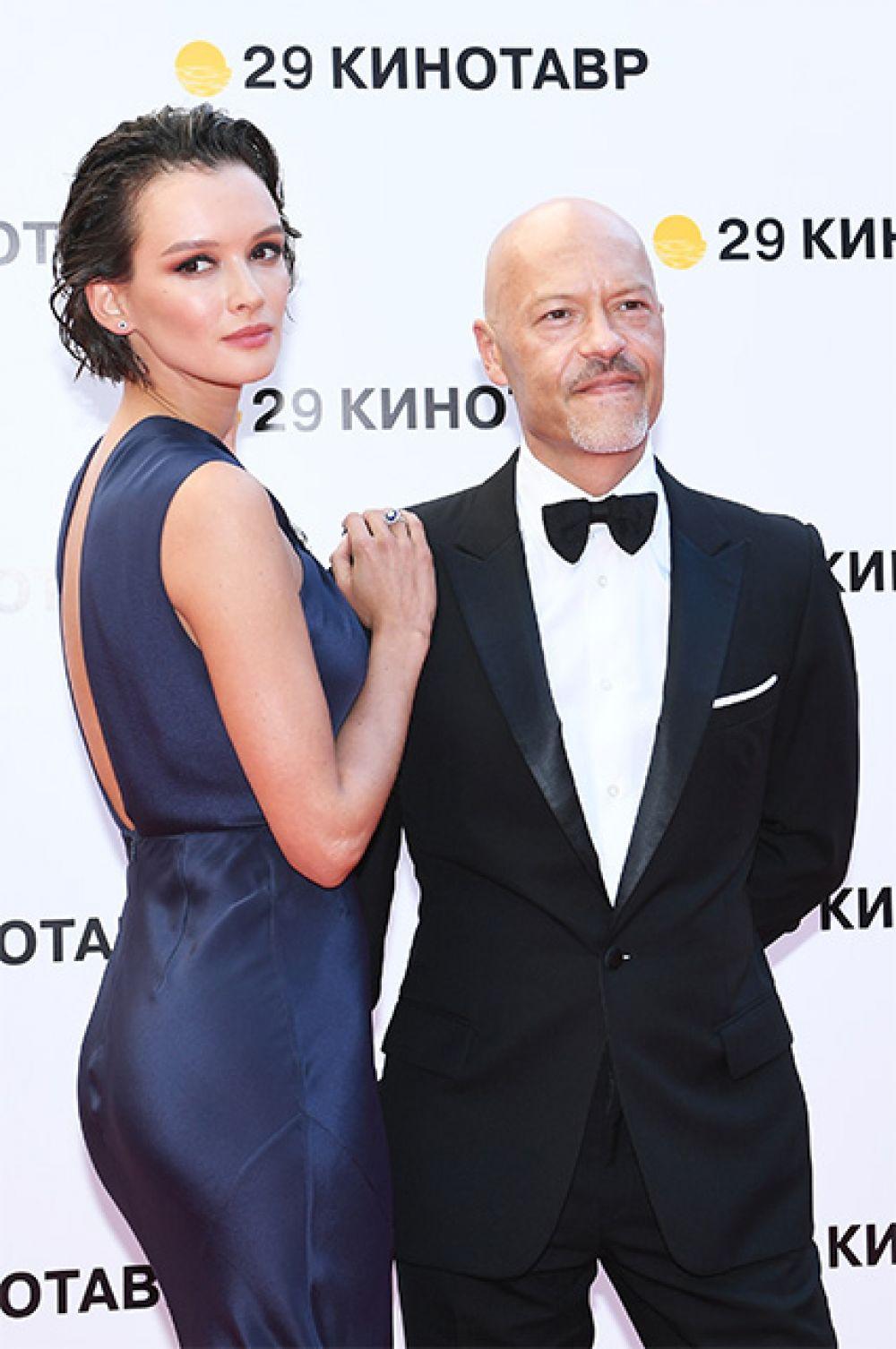 Актриса Паулина Андреева и режиссёр Фёдор Бондарчук.