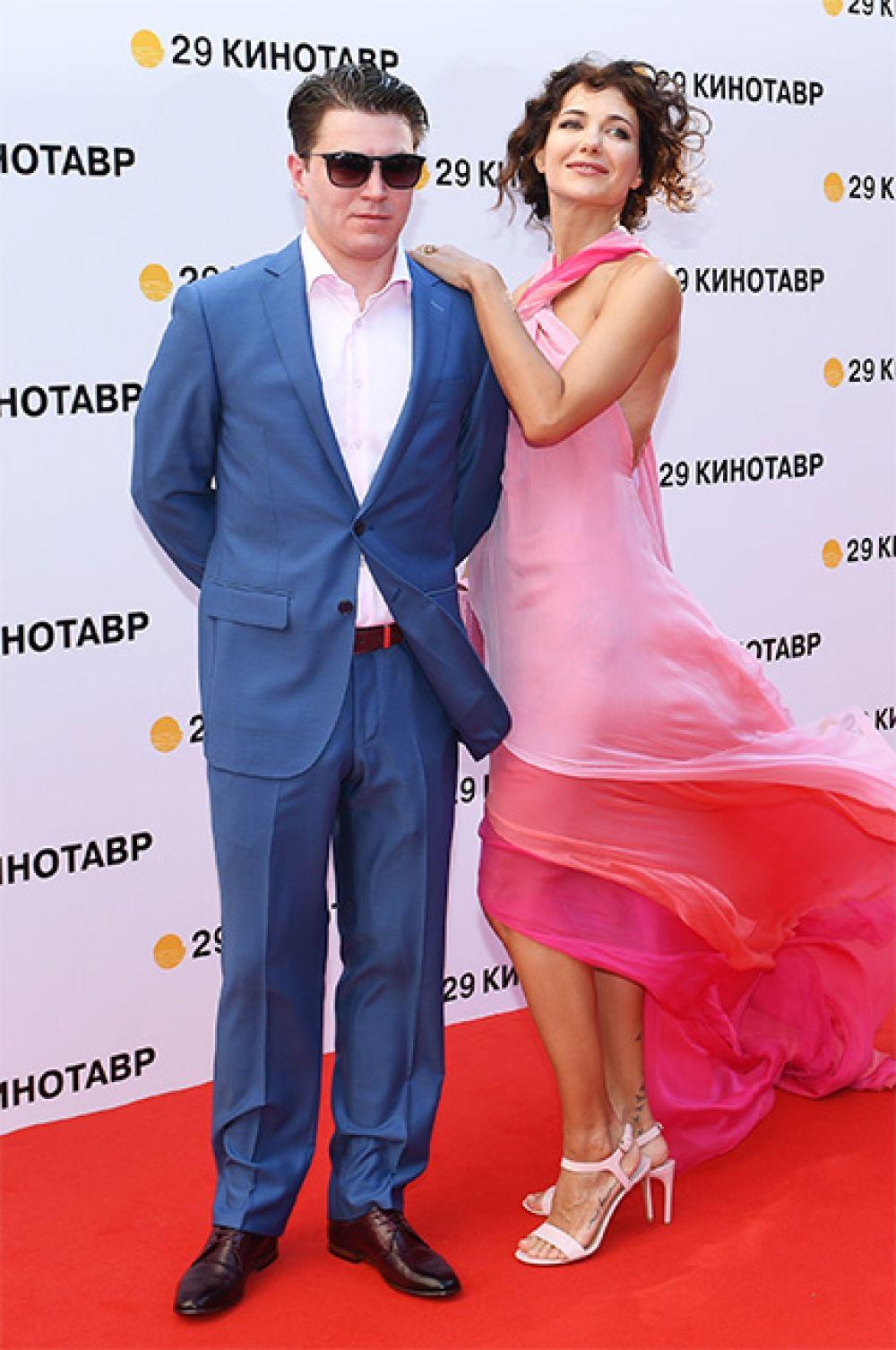 Актриса Екатерина Климова и ее супруг актер Гела Месхи