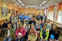 Тюменские ребята познакомились с детским писателем из Крыма