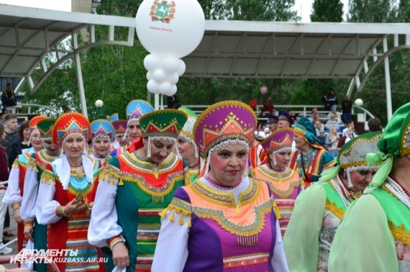 На 100-летие Кемерова приехали гости и разных городов Кузбасса и из соседних областей и краёв.