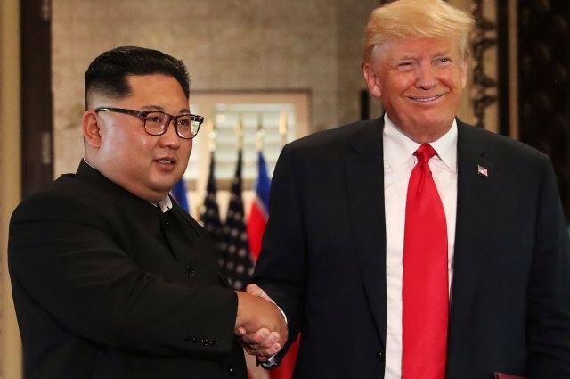 Соединенные Штаты обещают КНДР гарантии безопасности взамен  наядерное разоружение