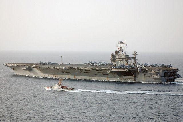 Авианосная группа ВМС США вернулась вСредиземное море