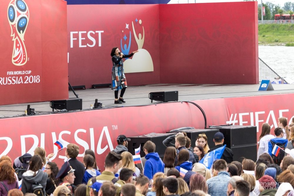 Также выступила Диляра Вагапова со своей группой Мураками