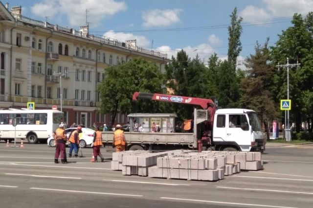 С 14 июня на проспекте Советском начнется третий этап ремонтных работ.