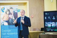 Марат Долгоаршинных представил презентацию «Интерактивного ТВ».