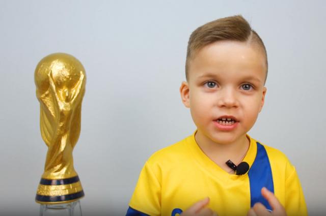 Дети верят в успех сборной России.